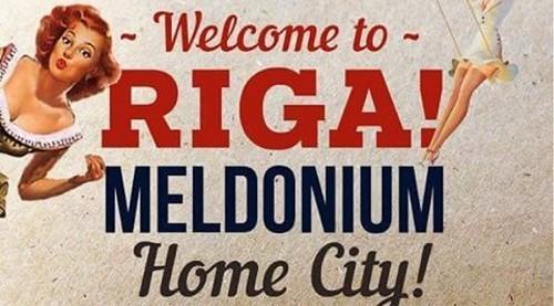 рига - дом мельдония