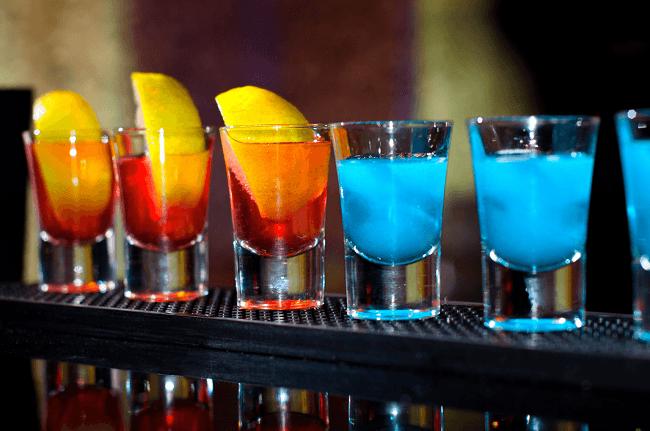 алкоголь шоты