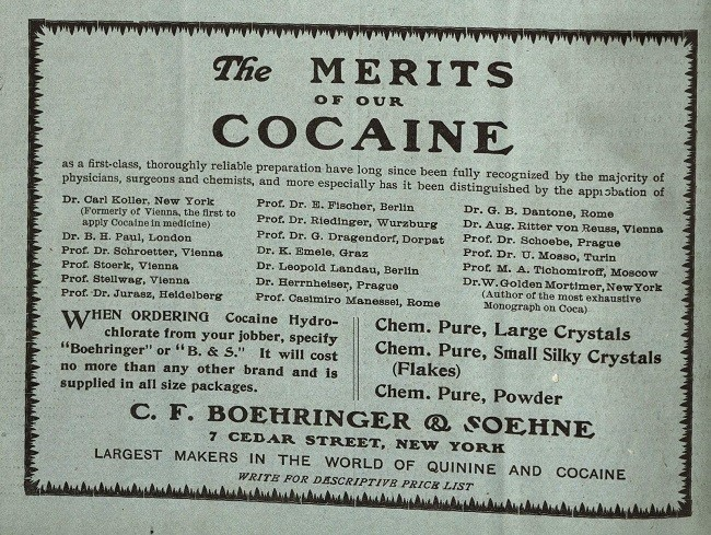 кокаин ноотроп 20 века