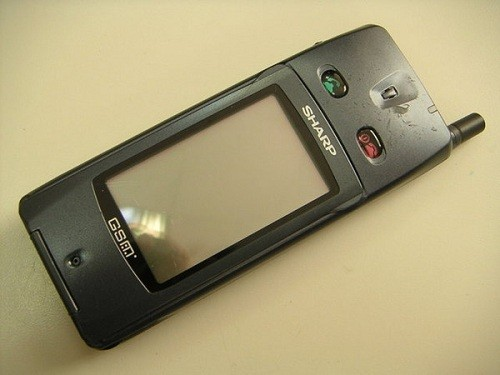первый сенсорный экран