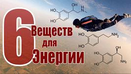 6 веществ для энергии