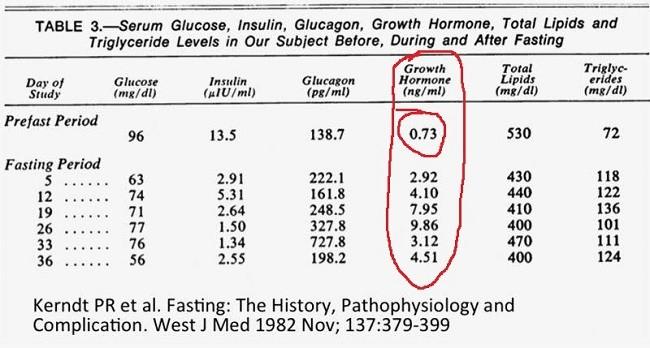 гормон роста и голод