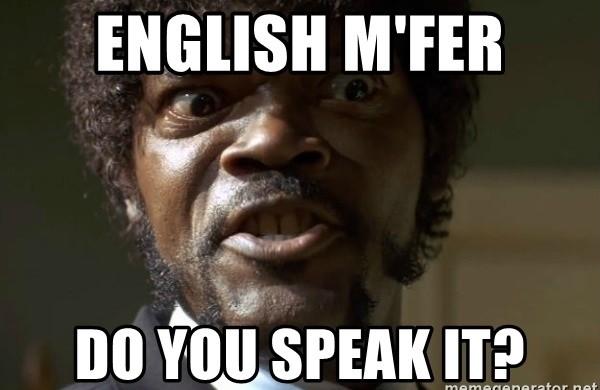 учить английский правильно